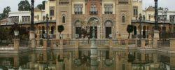 Museo-de-Artes-y-Costumbres-Populares,-Pabellon-Mudejar,-Seville,-Spain