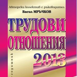 Трудови отношения - 2013 г.